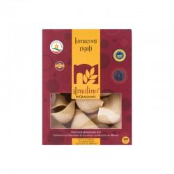 lumaconi rigati pasta di gragnano IGP con grano Italiano trafilata al bronzo